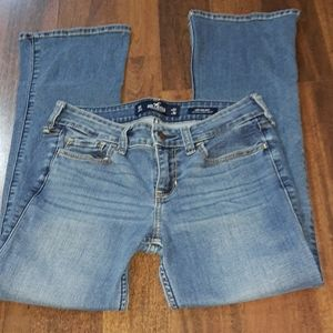 Hollister low rise bootcut jeans